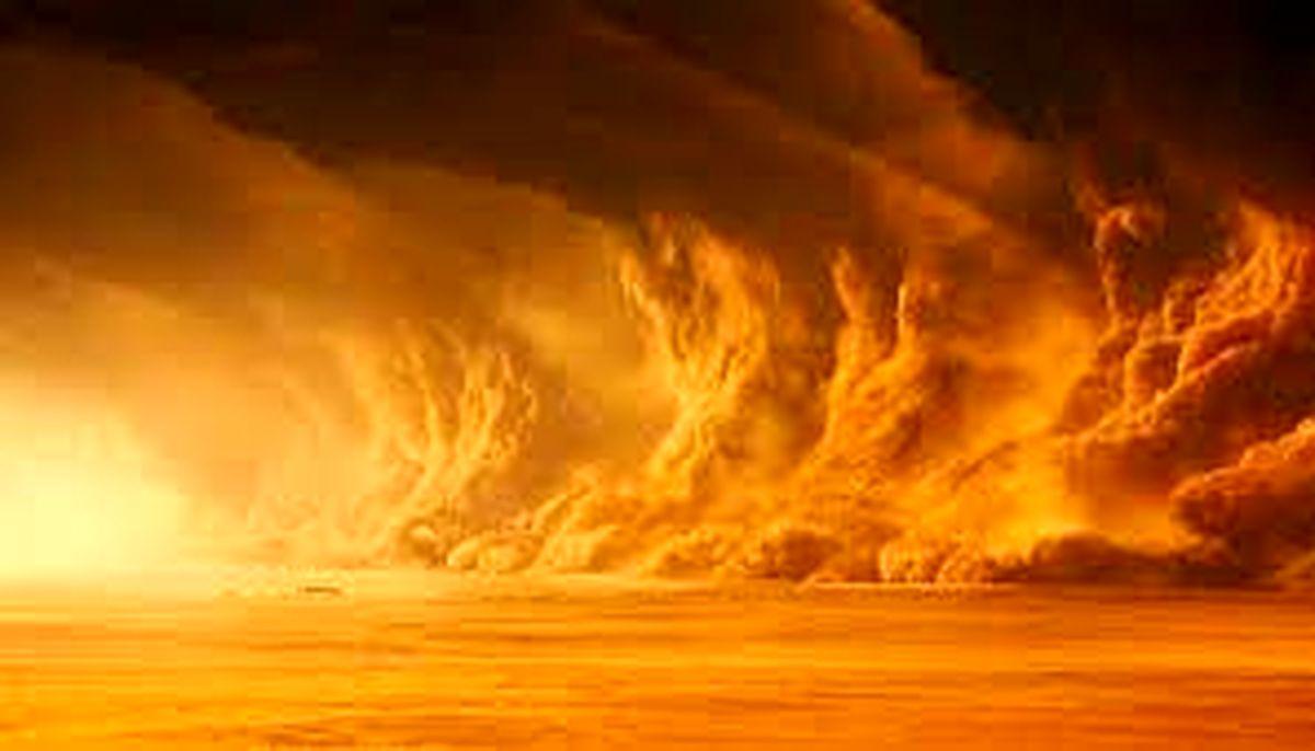 بمباران شن در عربستان؛طوفان آخرالزمانی