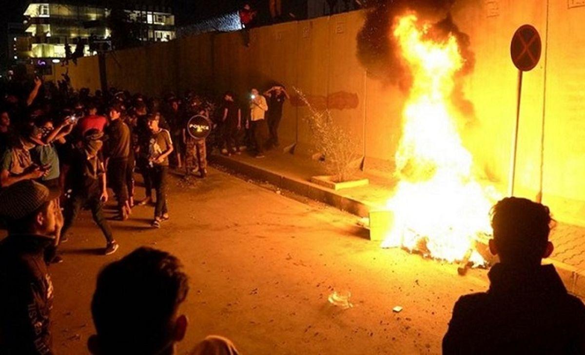 آخرین اخبار از حمله به کنسولگری ایران در کربلا + فیلم
