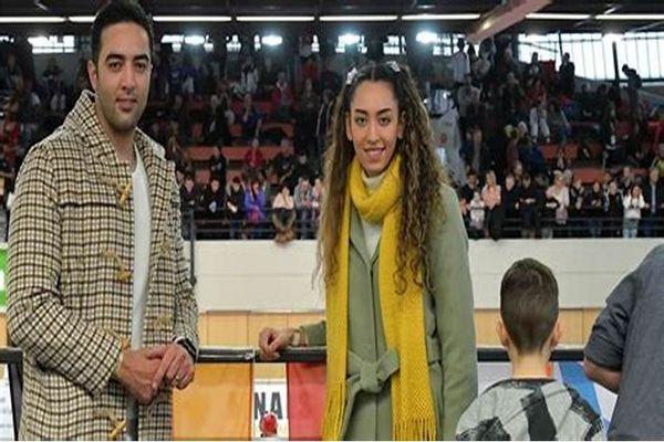 عاشقانه های کیمیا علیزاده و همسرش در خارج از کشور + عکس