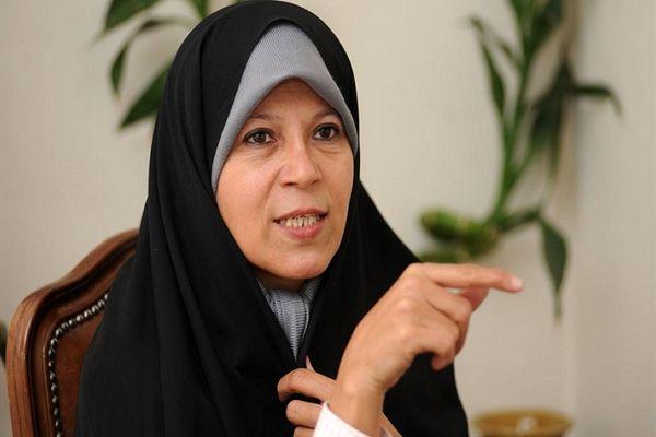 فائزه هاشمی: رأی دادن به همتی را تکذیب می کنم ! + جزئیات