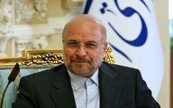 شکار لحظه گفتگوی صمیمی امروز قالیباف با علی لاریجانی