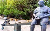 پر مفهوم ترین مجسمه دنیا در ژاپن|عکس