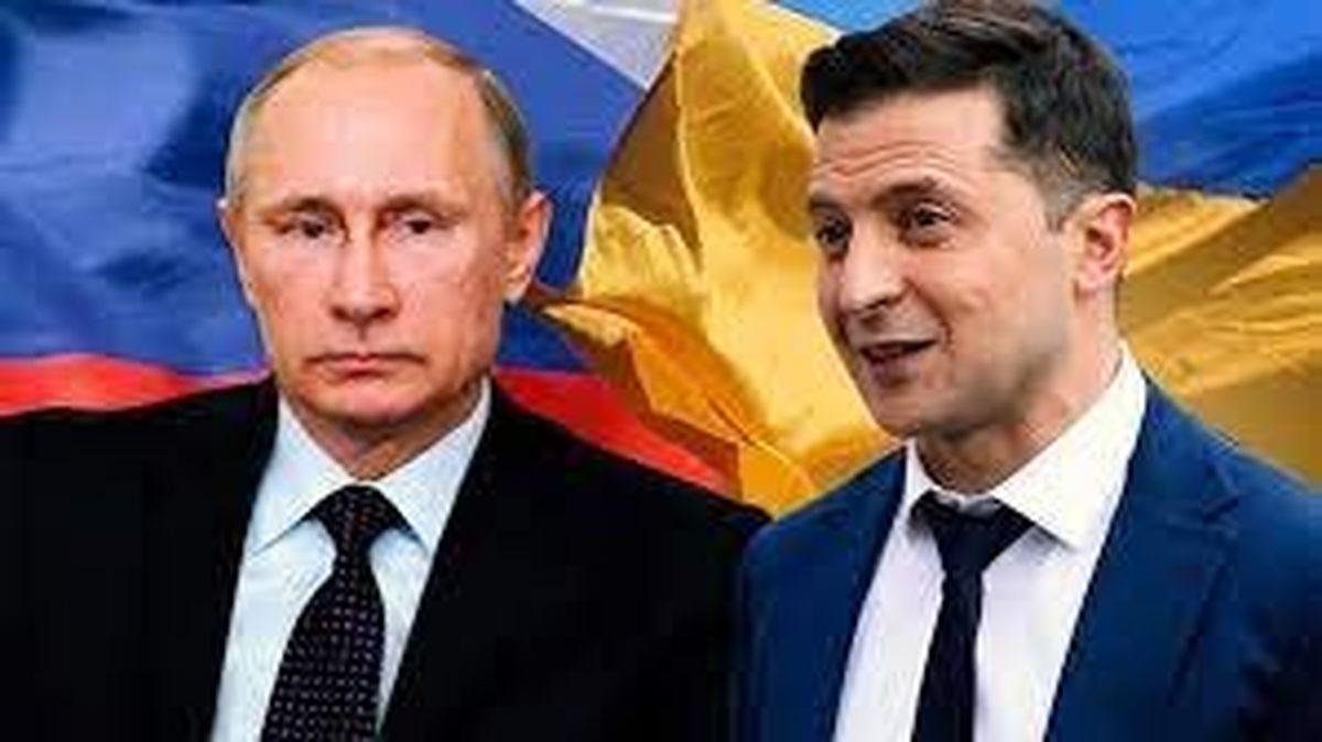 زلنسکی: موفقیت حل وضعیت دونباس تا ۹۰ درصد به پوتین بستگی دارد