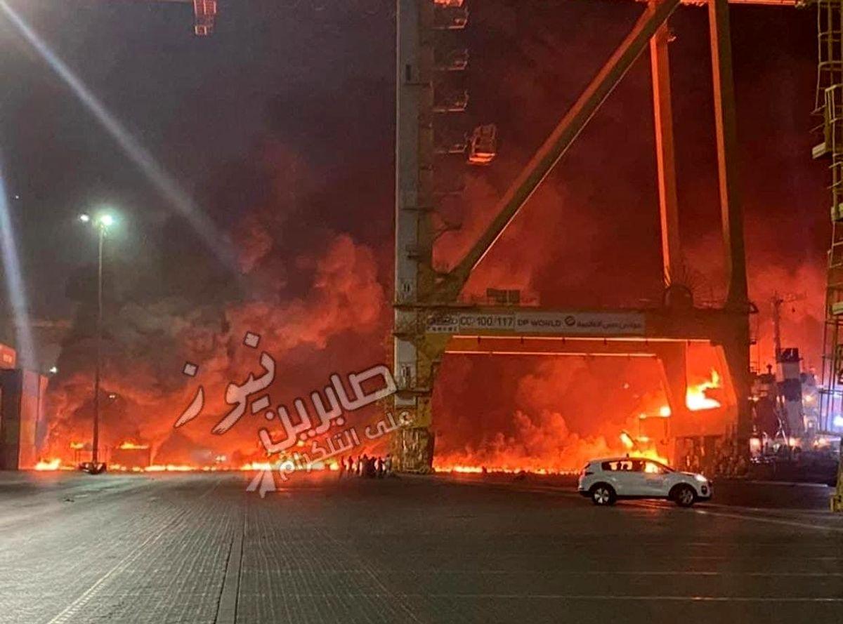 انفجار مشکوک در دوبی