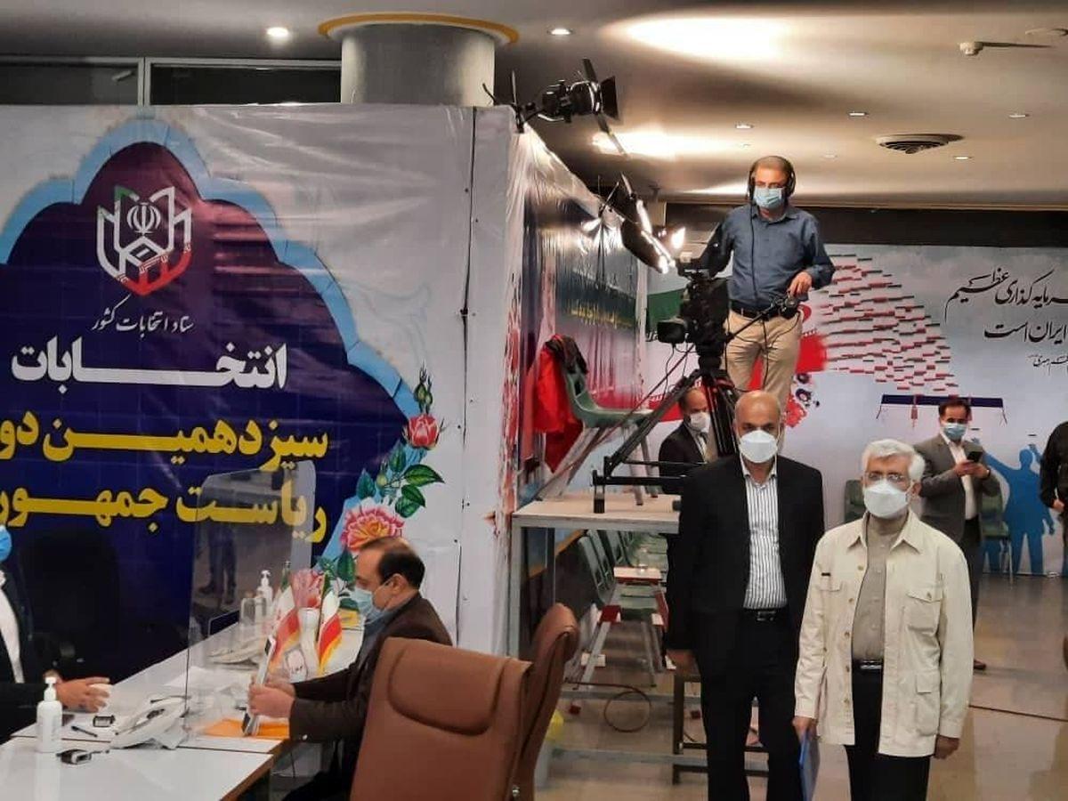 جلیلی: امیدوارم عرصه انتخابات فرصتی برای اقنا باشد و نه اغوا