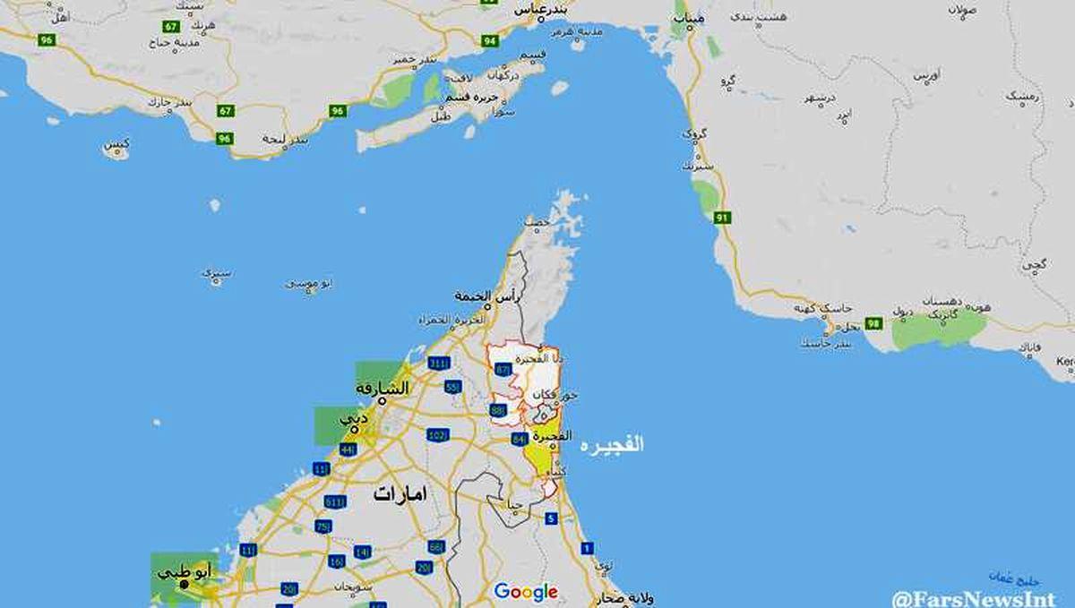 توطئه بزرگ علیه ایران در نزدیکی امارات