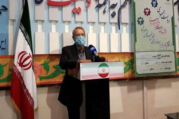 لاریجانی: قهر با انتخابات معنی ندارد