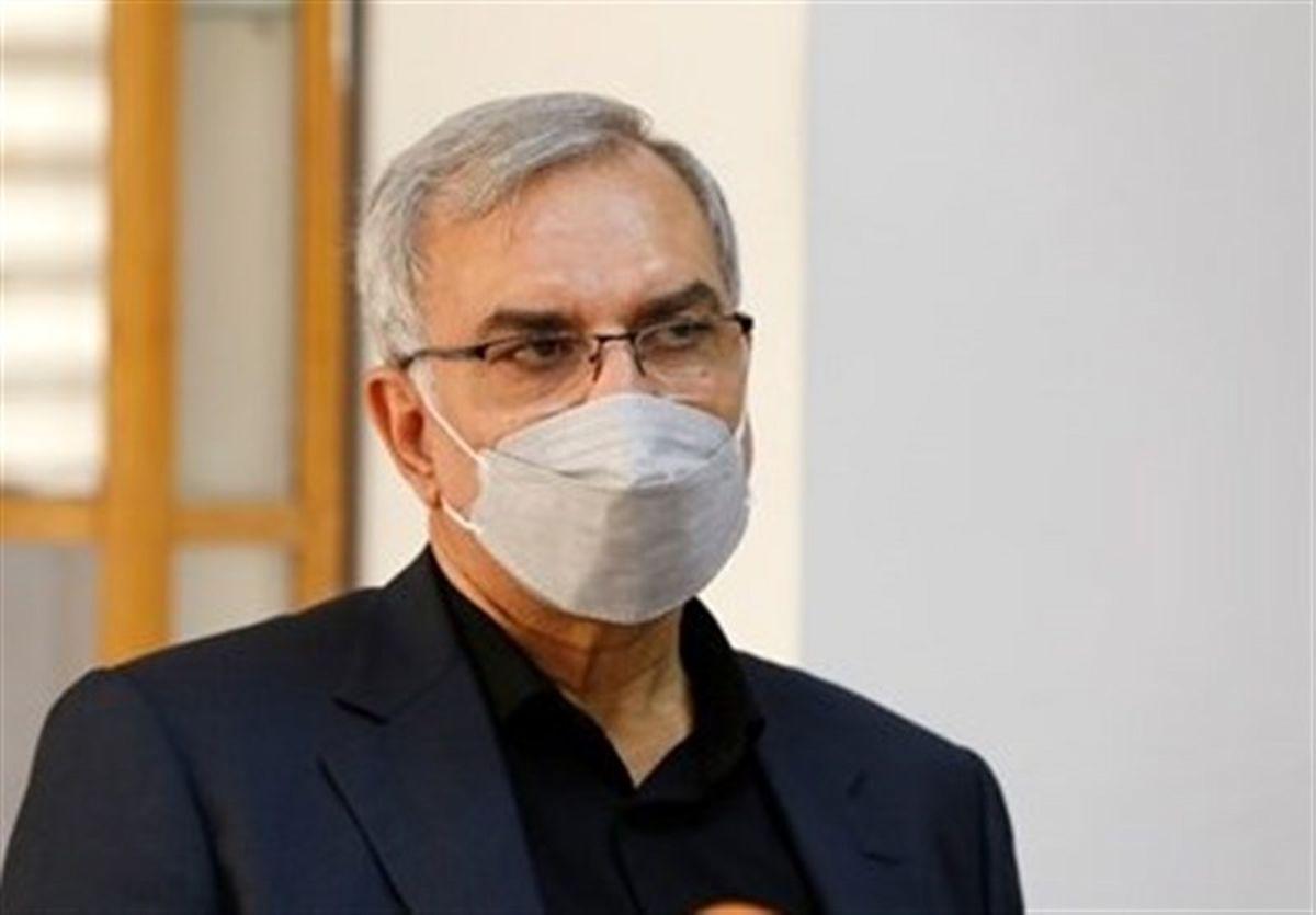 وزیر بهداشت:۲۱ میلیون دز واکسن دپو شده داریم