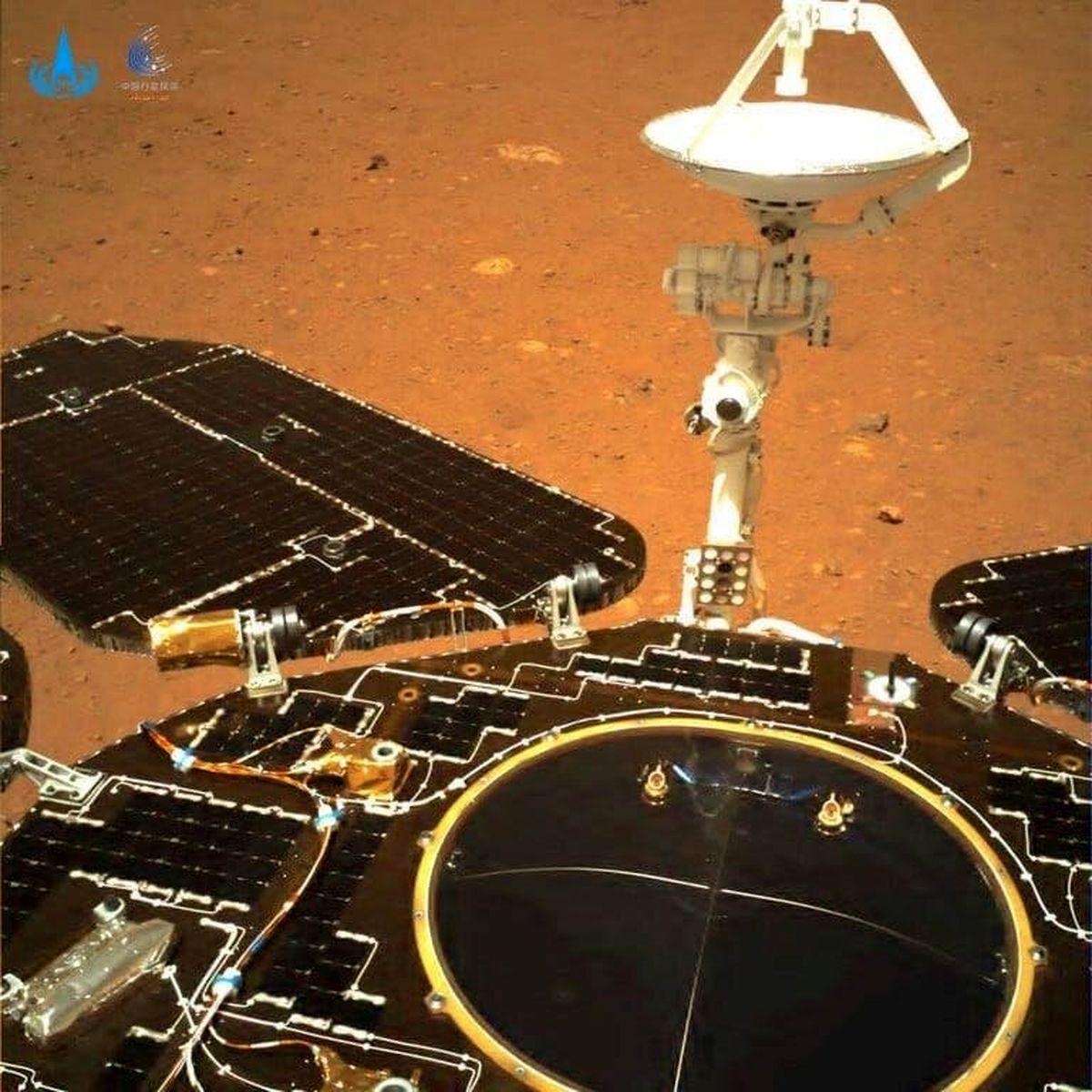 تصاویر جدید و شگفت انگیز از فضانورد مریخ نورد