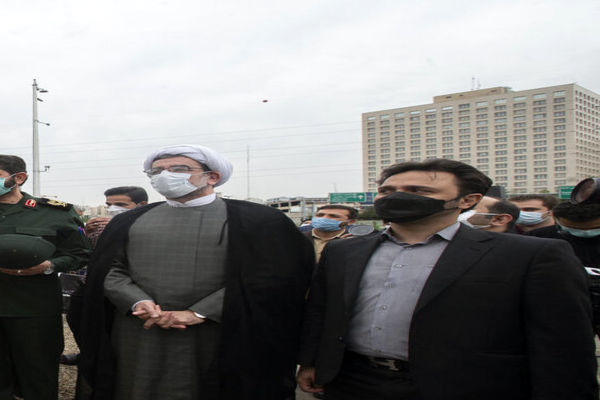 تصاویر نصب و رونمایی از تندیس شهید سپهبد سلیمانی در تهران