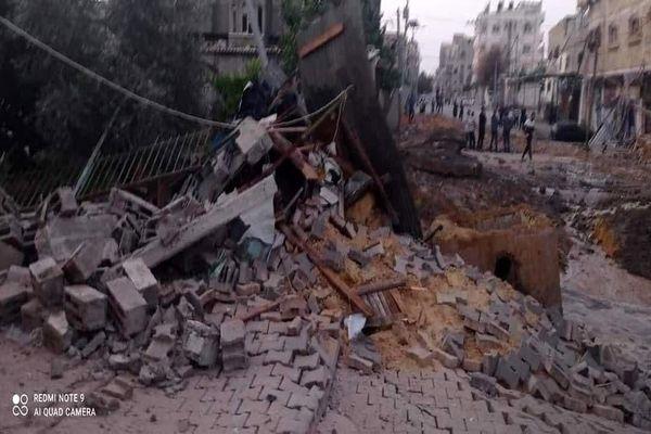 تصاویر تلخ از بمباران شدید غزه؛تخریب منازل و شهادت زنان و کودکان