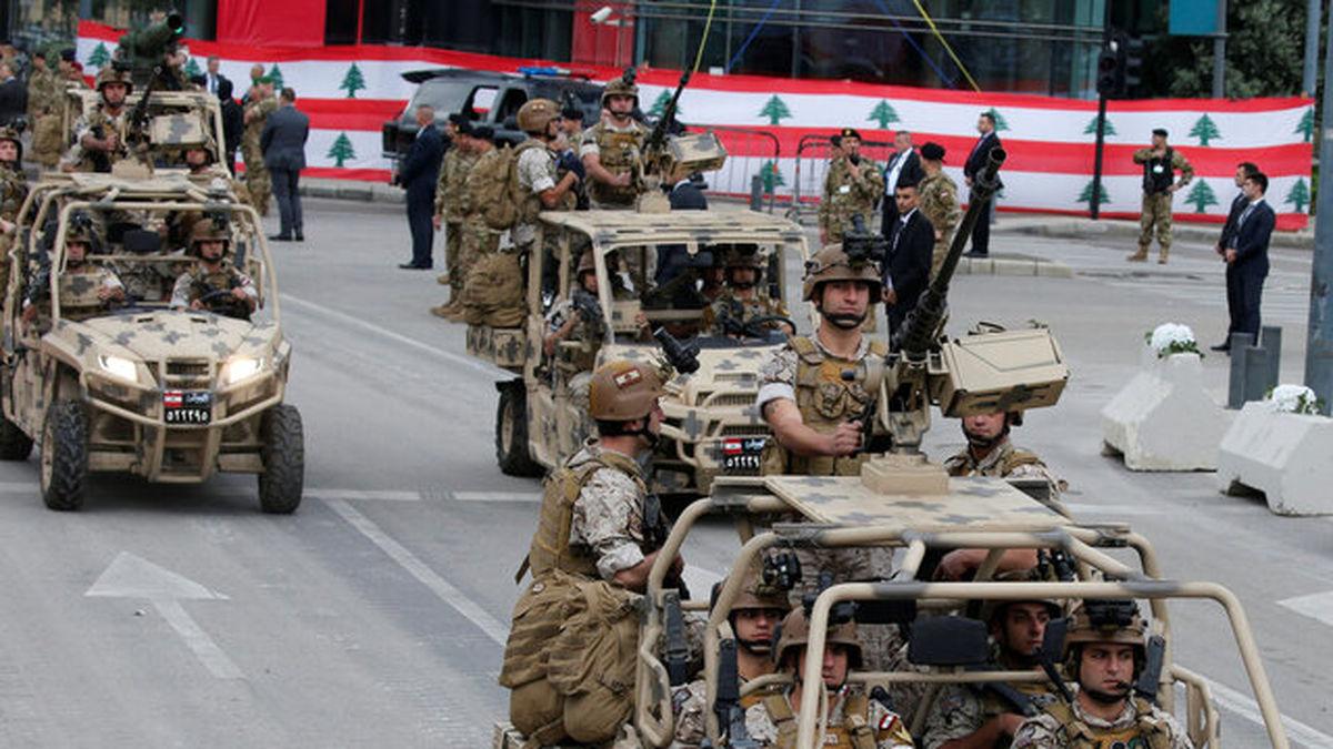 کمک ۱۲۰ میلیون دلاری آمریکا به ارتش لبنان