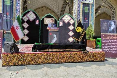مراسم تدفین علامه حکیمی