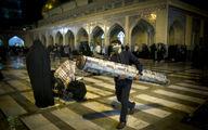 تصاویر حرم شاه عبدالعظیم (ع) و مصلی امام خمینی (ره) در شب قدر