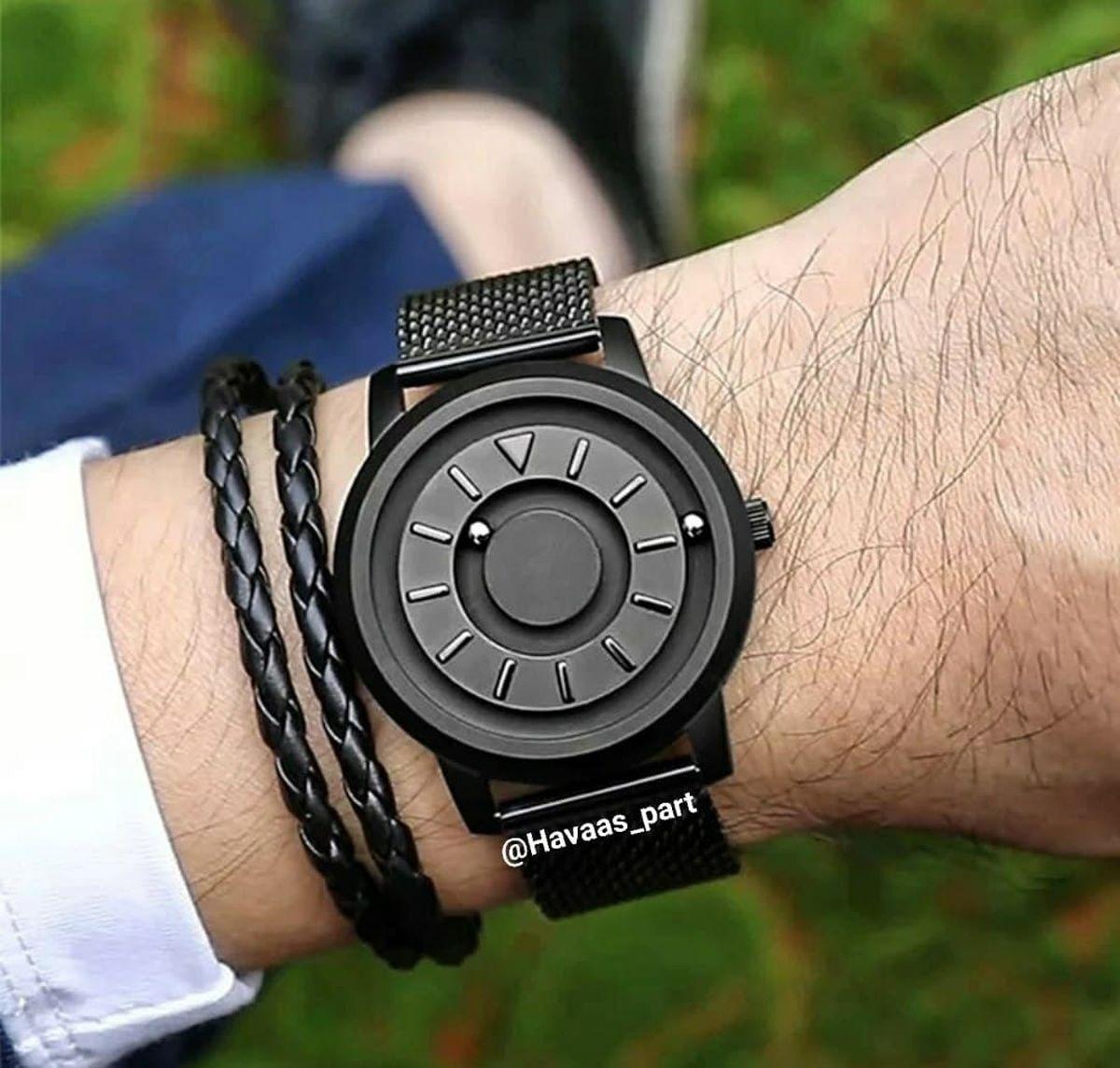 عکس جدیدترین ساعت مچی جهان برای استفاده از حس لامسه