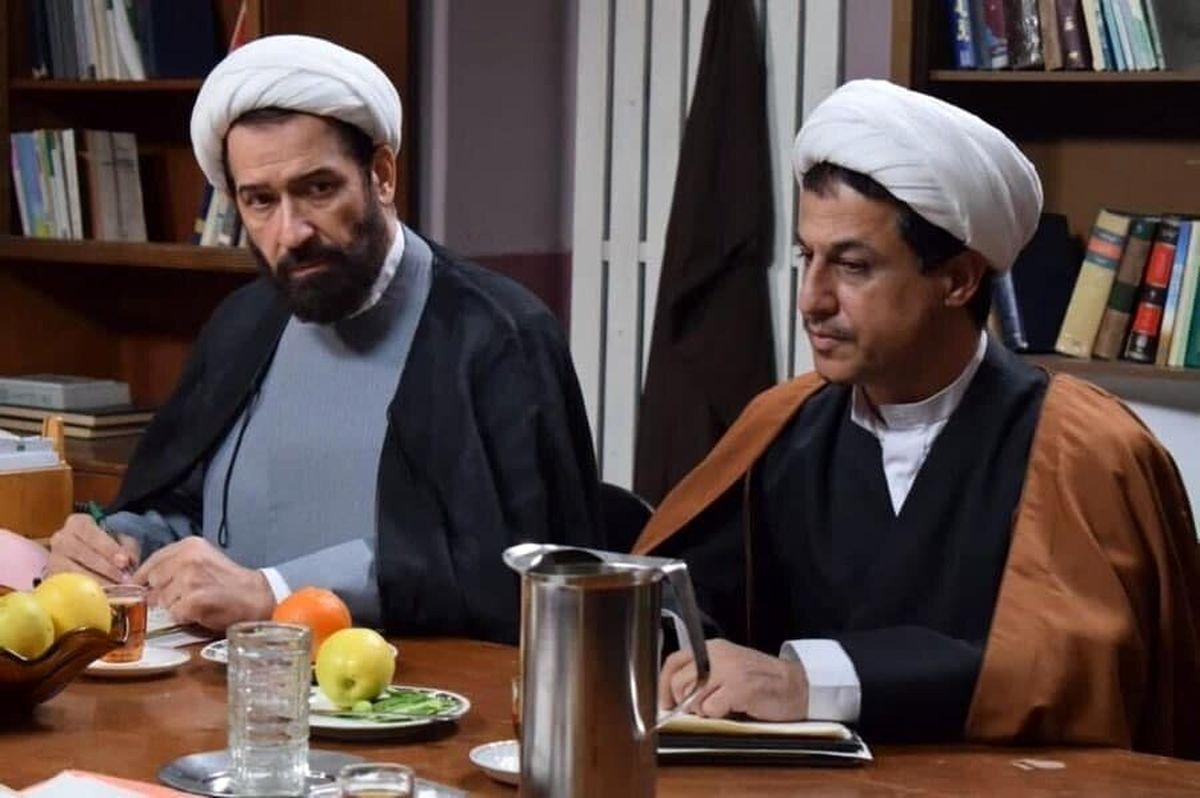 گریم دیدنی دو بازیگر مشهور در نقش هاشمی رفسنجانی و باهنر