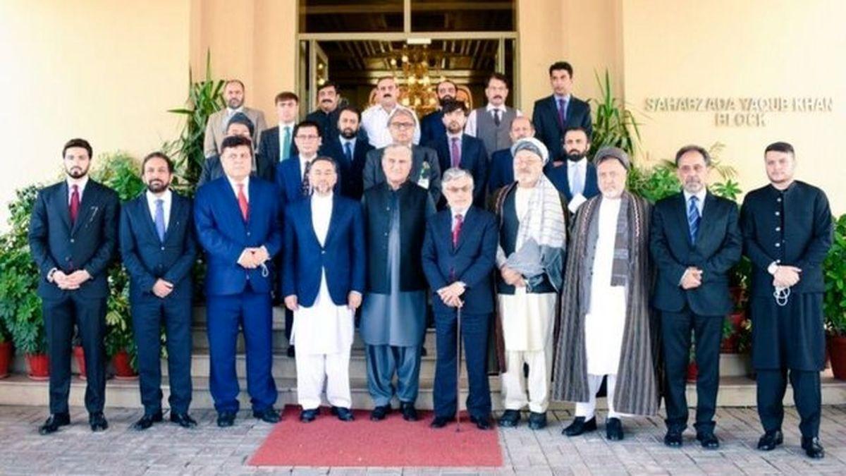 دیدار وزیر خارجه پاکستان با چهرههای سیاسی افغان