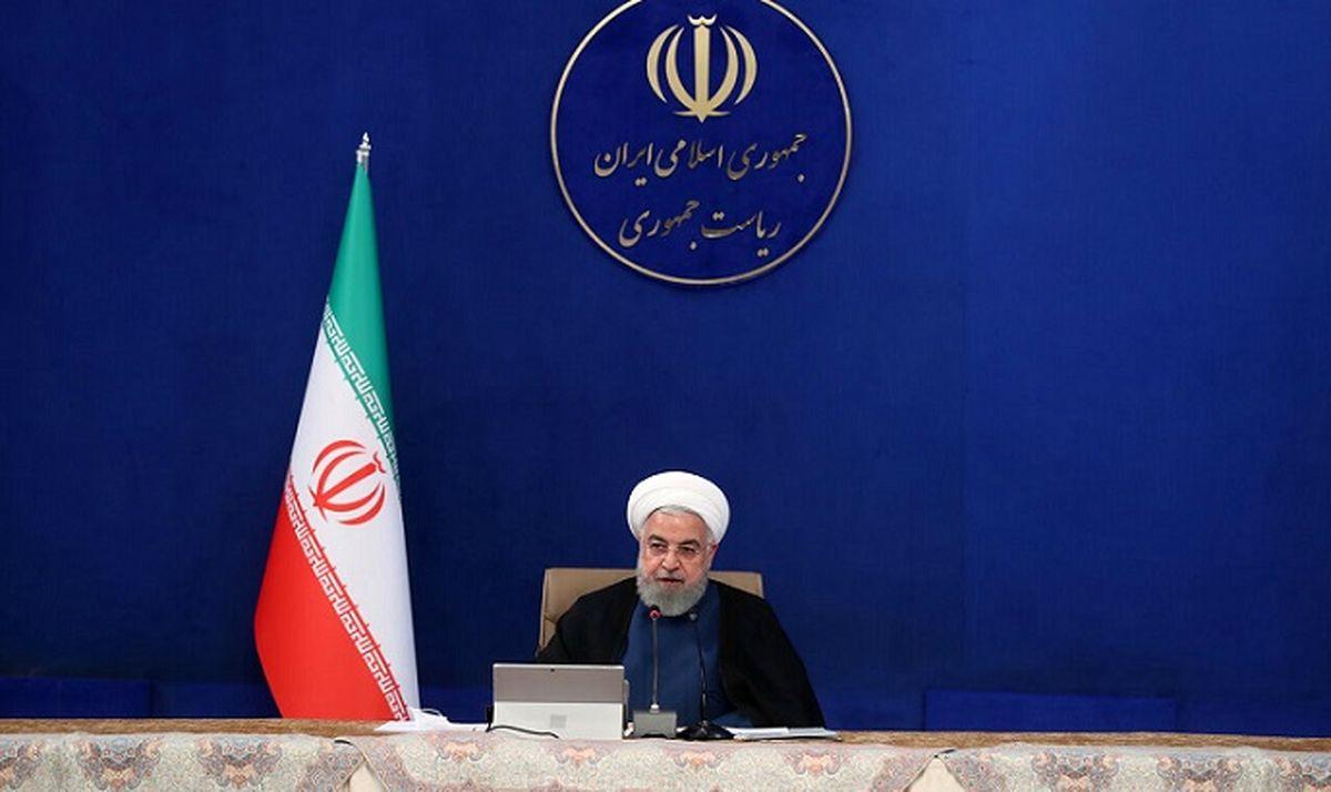 خبر مهم روحانی: رفع تحریم های جدید آمریکا علیه ایران از امروز + جزئیات