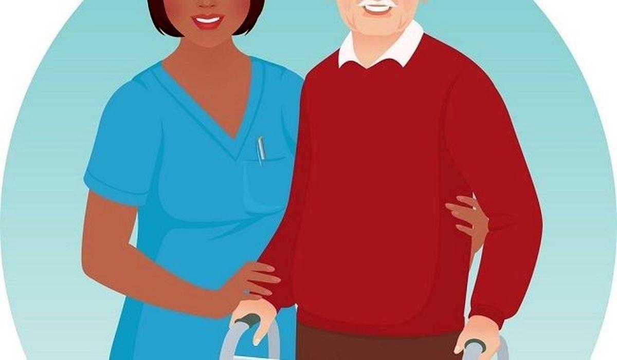 پرستار سالمند و آموزش نگهداری از سالمند در منزل (کرج و تهران)