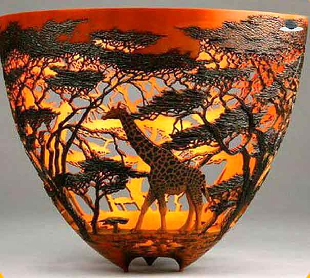 هنر دست حیرت انگیز یک هنرمند کنیایی|عکس