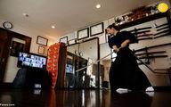 تصاویر عجیب آموزش آنلاین هنرهای رزمی برای ساموراییها
