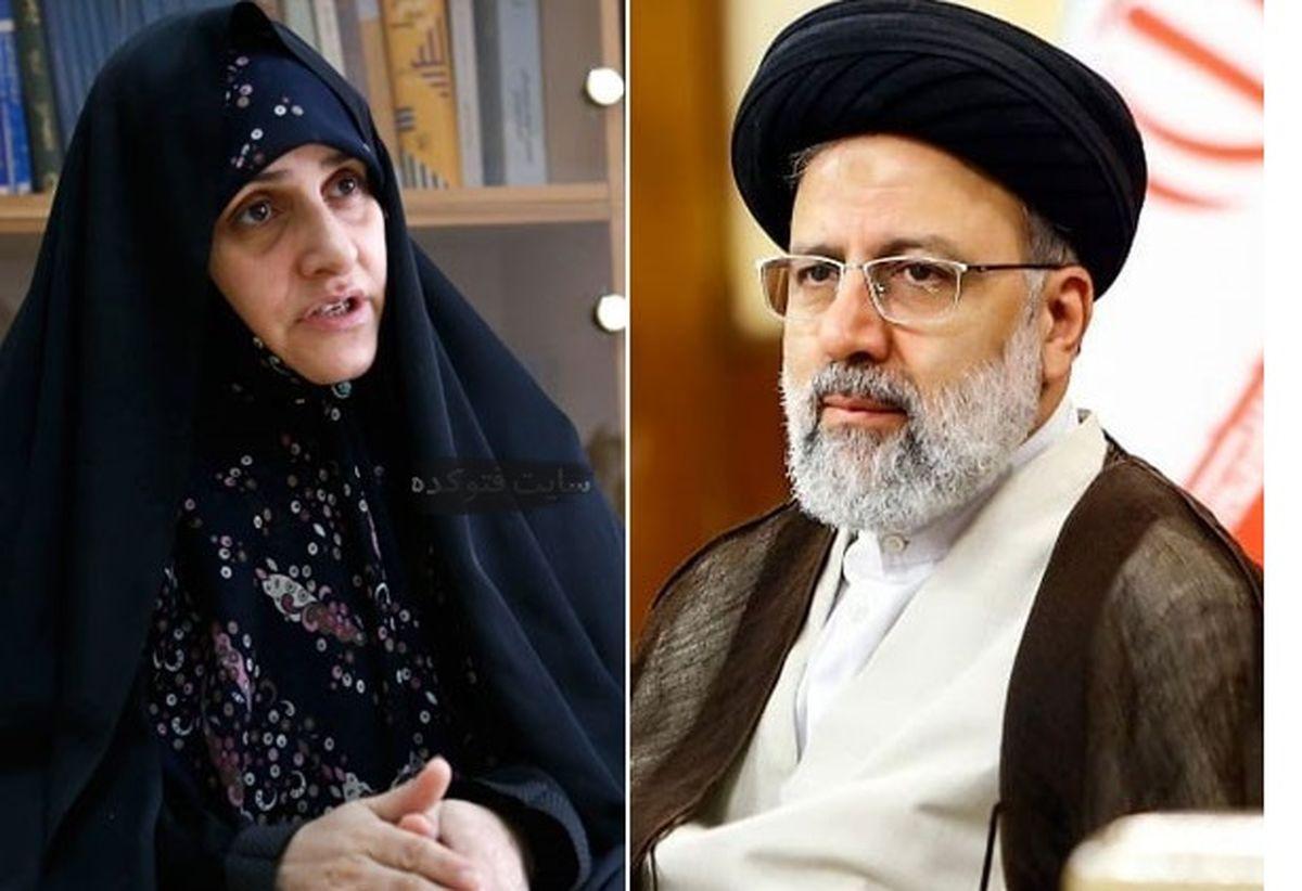 مشکل دولت از زبان جمیله علم الهدی ، همسر رئیسی   عکس