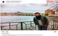 محمد علیزاده در شهر زیبای پراگ، پایتخت جمهوری چک / عکس