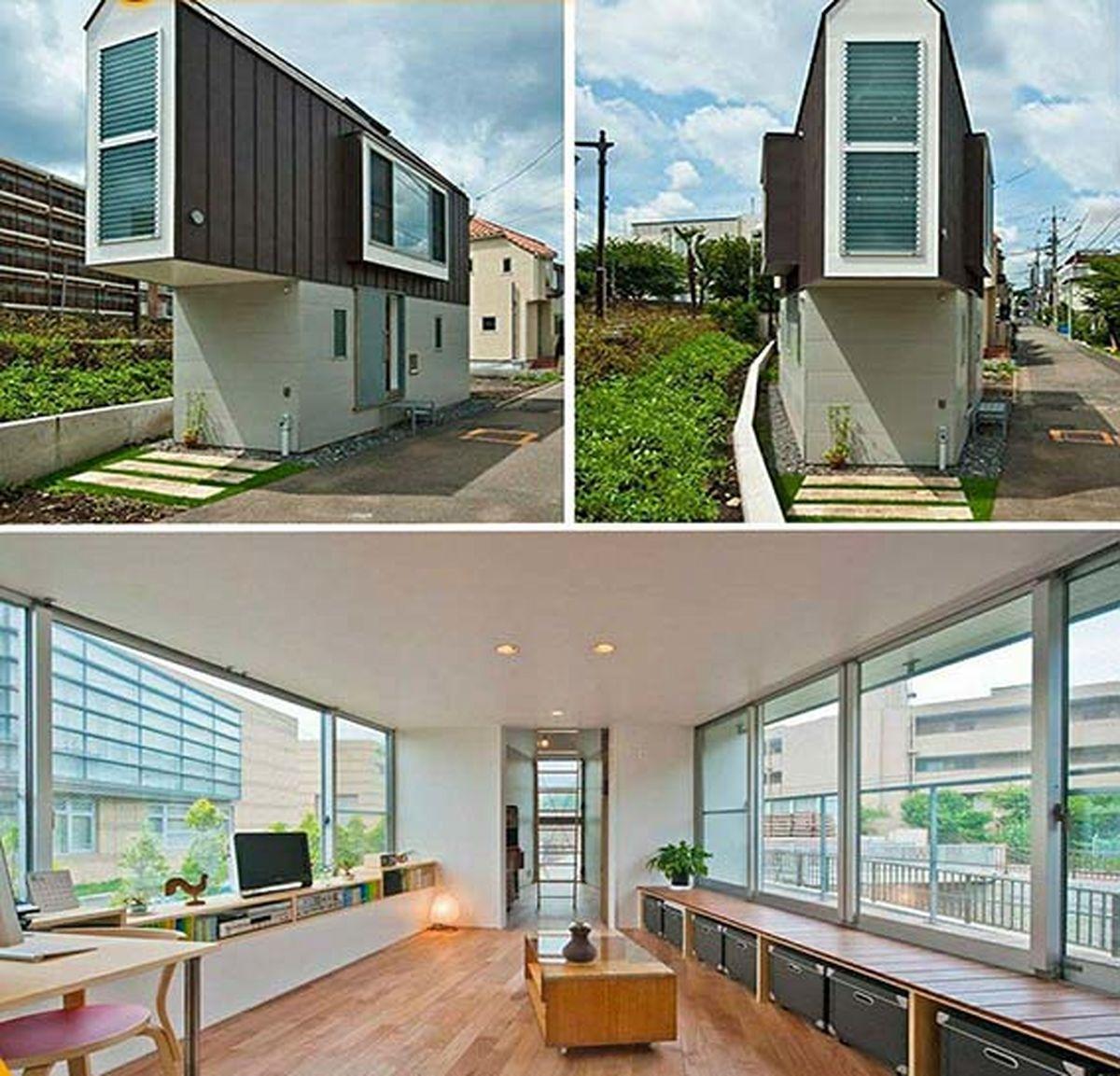 عجیب ترین خانه ژاپنی ساخته شد|عکس
