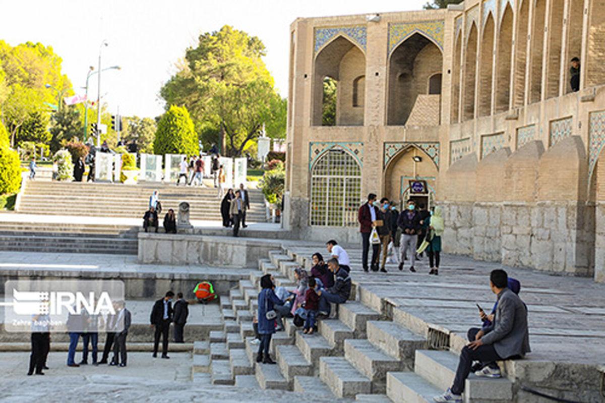 حال و هوای نوروز در پلهای تاریخی اصفهان