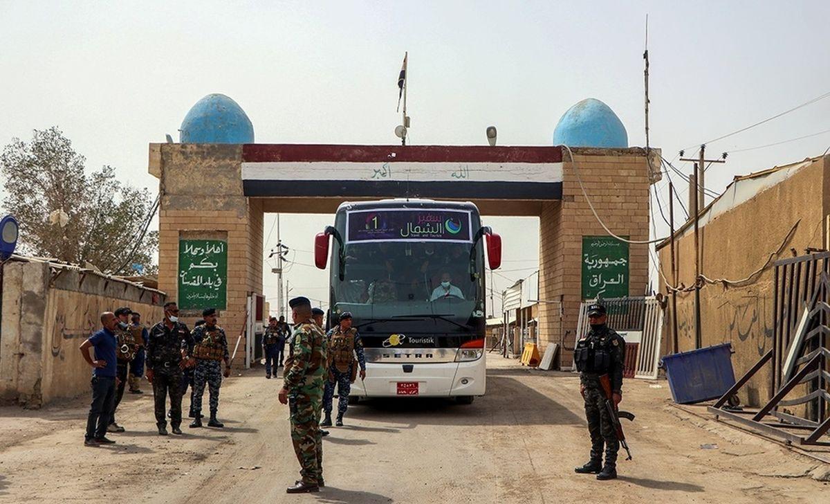 تصاویر منتشر شده از آزادی ۴۰ ایرانی از زندانهای عراق
