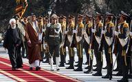 استقبال رسمی روحانی از امیر قطر + عکس