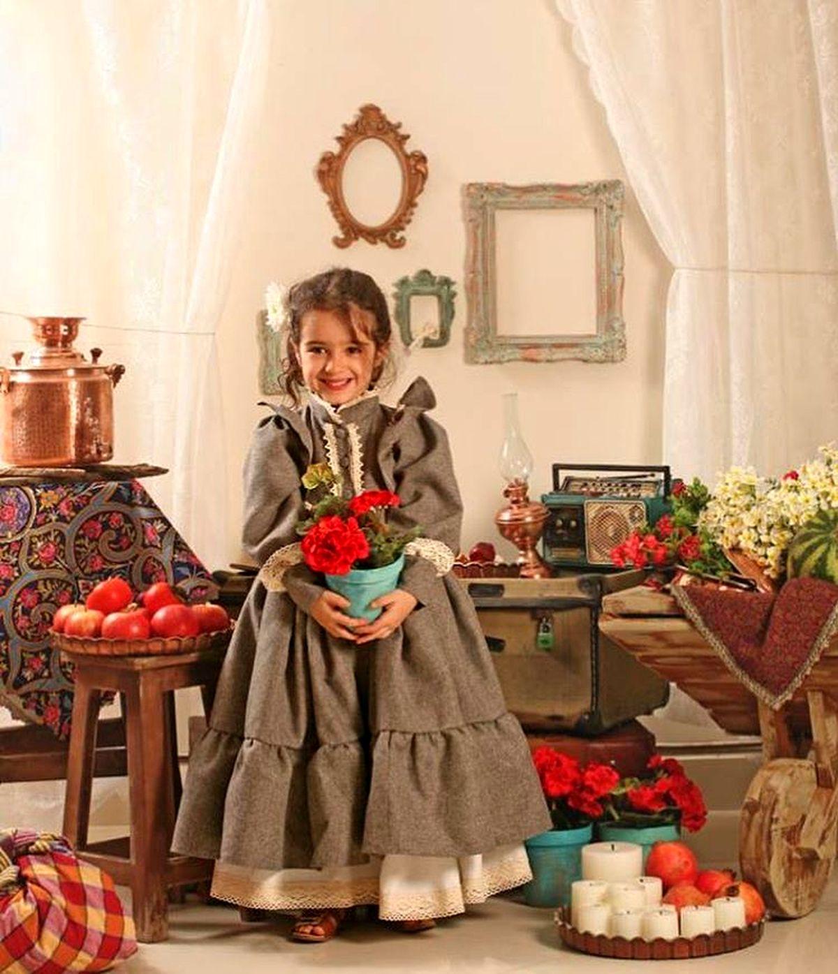 تصویری جالب از دختر مجید صالحی